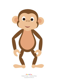 Cheeky chimps printables