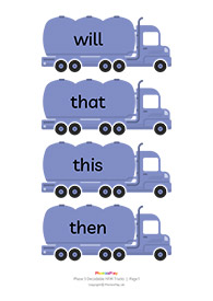 Decodable HFW trucks